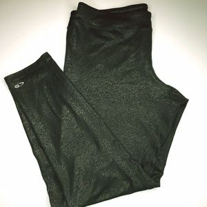 Champion NWOT duo dry XXL patterned leggings.